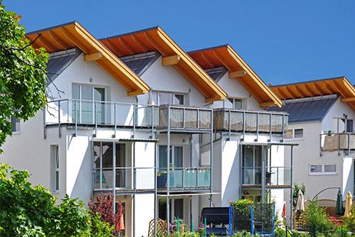 Vermietung von Immobilien