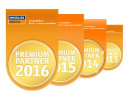 Immobilienscout24 Premium Partner 2013-2016