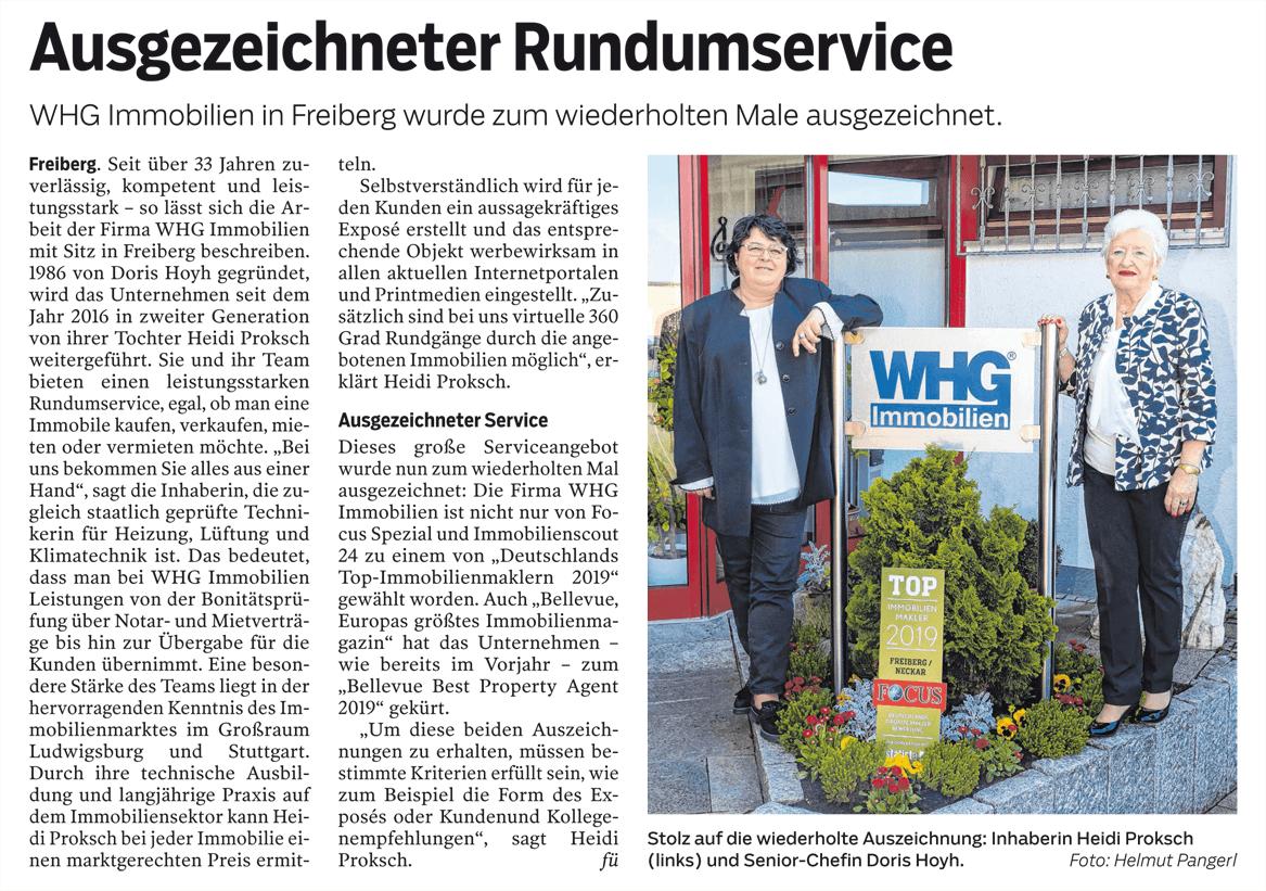 Bietigheimer Zeitung April 2019