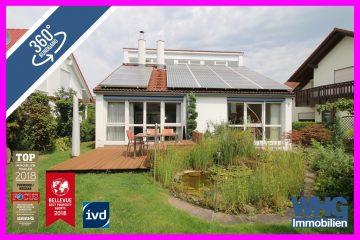 Gepflegtes Einfamilienhaus mit Garage, Terrasse und schönem Garten in ruhiger Ortsrandlage, 74385 Pleidelsheim, Einfamilienhaus