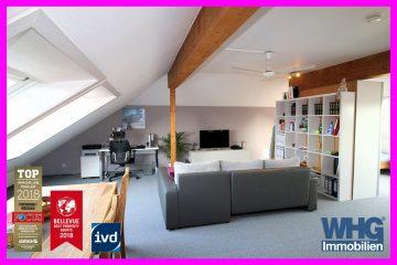 Großzügige 1-Zimmer-DG-Wohnung mit TG-Stellplatz, 71691 Freiberg a.N., Dachgeschosswohnung