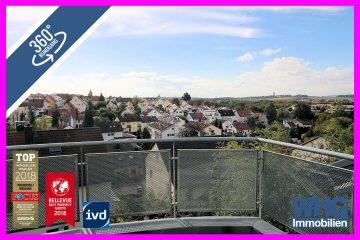 Schöne 2 ½ -Zimmer-DG-Wohnung mit 2 Balkonen und TG-Stellplatz, 71691 Freiberg am Neckar, Dachgeschosswohnung