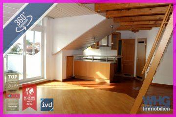 RESERVIERT: 3,5-Zimmer-Dachgeschosswohnung mit ausgebauter Bühne und Fernsicht, 71691 Freiberg am Neckar, Dachgeschosswohnung