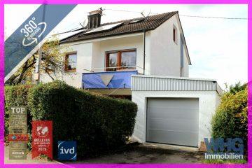 RESERVIERT: Gepflegte Doppelhaushälfte mit schöner Terrasse, Garten und Garage, 71672 Marbach am Neckar / Rielingshausen, Doppelhaushälfte