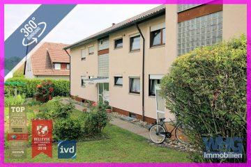 Gepflegte 3-4-Zimmer-Wohnung mit Balkon, ausgebauter Bühne und Garage, 74211 Leingarten / Großgartach, Etagenwohnung