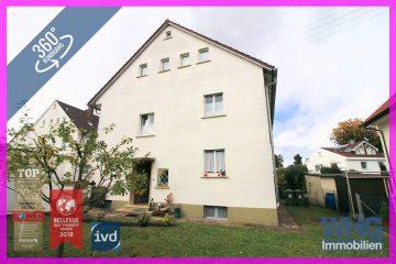Reserviert:Zweifamilienhaus mit viel Potenzial, 71691 Freiberg am Neckar, Zweifamilienhaus