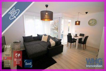 Verkauft : Gepflegte 2-Zimmer-Wohnung mit Pkw-Stellplatz in Benningen, 71726 Benningen am Neckar, Erdgeschosswohnung