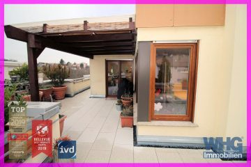 Sonnige 3 1/2 Zimmer-Wohnung mit großer Dachterrasse und TG-Box, 70839 Gerlingen, Dachgeschosswohnung