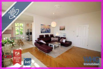 Exklusive 3,5-Zimmer-Jugendstilwohnung in ruhiger zentaler Lage, 71638 Ludwigsburg, Etagenwohnung