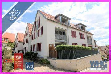 Gepflegte 2-Zimmer-Wohnung mit Tiefgaragenstellplatz, 74369 Löchgau, Etagenwohnung