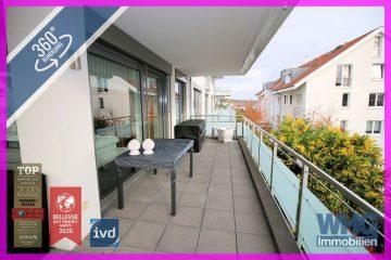 Moderne 4,5-Zimmer-Wohnung mit großem Balkon und 2 Tiefgaragenstellplätzen, 74321 Bietigheim-Bissingen, Etagenwohnung
