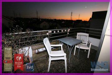 Gepflegte 3-Zimmer-Wohnung mit Tiefgaragenstellplatz und großer Dachterrasse, 71691 Freiberg am Neckar, Etagenwohnung