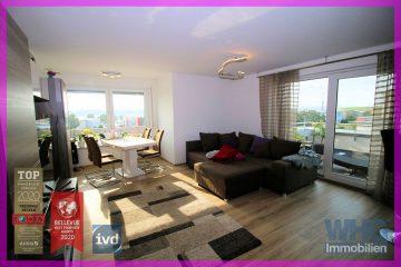 Neuwertige 2,5-Zimmer-Wohnung mit Balkon und Tiefgaragenstellplatz, 71726 Benningen am Neckar, Etagenwohnung