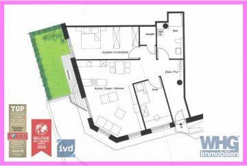 Erstbezug nach Umbau: Barrierefreie 3,5-Zimmer-Erdgeschosswohnung mit  TG- und PKW-Stellplatz, 71691 Freiberg am Neckar, Erdgeschosswohnung
