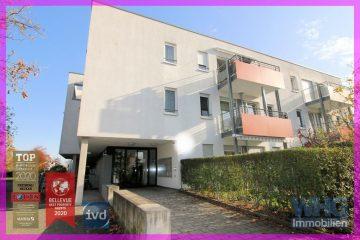 RESERVIERT: Seniorengerechte 2-Zimmer-Wohnung mit Balkon und Pkw-Stellplatz, 71691 Freiberg am Neckar, Etagenwohnung
