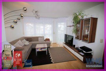 Gepflegte 3,5-Zimmer-Mietwohnung mit großem Balkon und Tiefgaragenstellplatz, 74354 Besigheim, Etagenwohnung