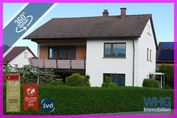 Gepflegtes 1-2-Familienhaus mit Garage, Terrasse und großem Garten, 74321 Bietigheim-Bissingen, Einfamilienhaus