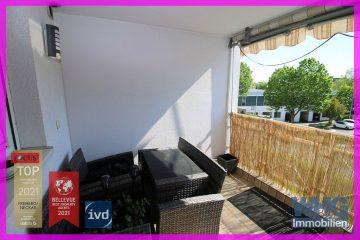 Helle 2-Zimmer-Mietwohnung mit Balkon und Pkw-Stellplatz, 74321 Bietigheim-Bissingen, Etagenwohnung