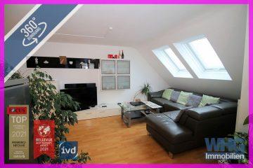 Gepflegte 3-Zimmer-Wohnung mit Tiefgaragenstellplatz, 74379 Ingersheim, Dachgeschosswohnung
