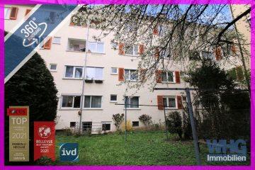 Zentral und ruhig! 3-Zimmer-Wohnung mit Blick ins Grüne, 70180 Stuttgart, Etagenwohnung