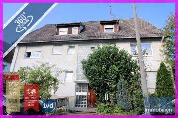 In bevorzugter Wohnlage: Mehrfamilienhaus mit Garage und 5 Pkw-Stellplätzen, 71642 Ludwigsburg / Hoheneck, Mehrfamilienhaus