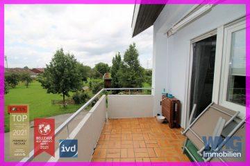 Gepflegte 3 1/2 -Zimmer-Mietwohnung mit Balkon und Garage, 71642 Ludwigsburg-Poppenweiler, Etagenwohnung