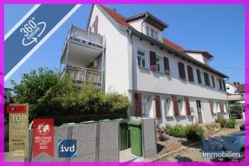 Exklusive 2-Zimmer-EG-Wohnung im denkmalgeschützten Gebäude mit Terrasse und Tiefgaragenstellplatz, 71691 Freiberg am Neckar, Erdgeschosswohnung